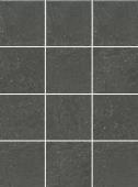 1322H Матрикс антрацит, полотно 29,8х39,8 из 12 частей 9,8х9,8 керамический гранит