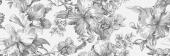 Декор Монфорте Цветы 40*120