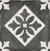Керамогранит Equipe Art Nouveau Padua Black 20*20