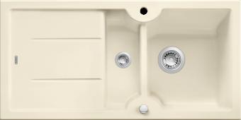 Мойка IDESSA 6 S керамика глянцевый магнолия с клапаном-автоматом (Заказная позиция) BLANCO 519605