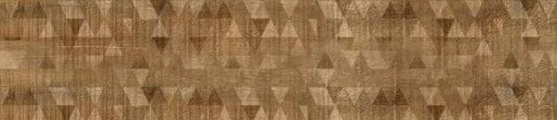 IDALGO Гранит Вуд Эго Dec. Коричневый структурный Rett 120х295 120x29,5 керамогранит