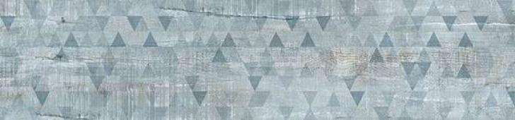 IDALGO Гранит Вуд Эго Dec. Серо-голубой Lapp Rett 120х295 120x29,5 керамогранит