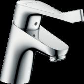 Смеситель hansgrohe Focus для раковины с длинной рукояткой и сливным гарнитуром, хром 31910000