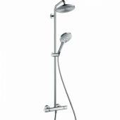 Душевая система hansgrohe Raindance Select S 240 Showerpipe с термостатом, хром 27115000