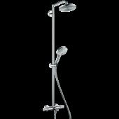 Душевая система hansgrohe Raindance Select S 240 Showerpipe для ванны с термостатом, хром 27117000
