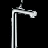Смеситель hansgrohe Talis S для раковины с высоким изливом и сливным гарнитуром, хром 72115000