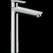 Смеситель hansgrohe Talis E для раковины с высоким изливом и сливным гарнитуром, хром 71716000