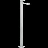 Смеситель для раковины hansgrohe Metropol однорычажный напольный без сливного гарнитура, хром 32530000