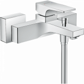 Смеситель hansgrohe Metropol для ванны, однорычажный, внешнего монтажа, с рычажной рукояткой, хром 32540000