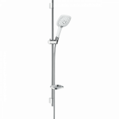Душевой набор hansgrohe Raindance Select E 150 Unica S Puro 90, белый/хром 27857400