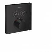 Термостат hansgrohe ShowerSelect скрытого монтажа, для 2 потребителей 15763670