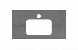 Спец. декоративное изделие для раковин, встраиваемых сверху, 80 см Про Дабл антрацит