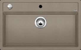 Мойка DALAGO 8 SILGRANIT PuraDur серый беж с клапаном-автоматом  BLANCO 517323