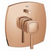 Внешняя часть смесителя для ванны GROHE Grandera, теплый закат глянец (19920DA0)