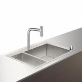 Кухонная комбинация hansgrohe C71-F655-09, хром 43206000