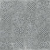 IDALGO Гранит Стоун Цемент Декор Цемент SR Тем.Серый 120x120 керамогранит