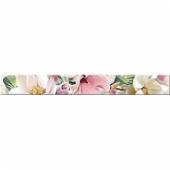 Плитка AZORI Boho 630x75 бордюр Magnolia