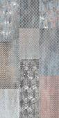 Плитка AZORI Pandora Grafit Ornament 630x315