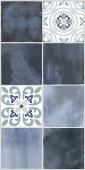 Плитка AZORI Glam Indigo Ornament 1 630x315
