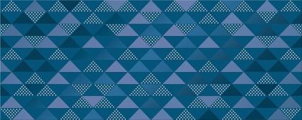 Плитка AZORI Vela Indigo 505x201 декор Confetti
