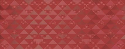 Плитка AZORI Vela Carmin 505x201 декор Confetti