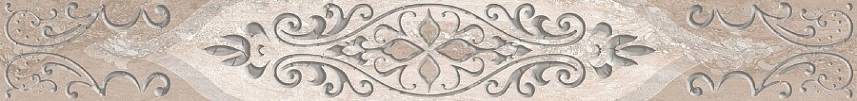 Плитка AZORI Ascoli 630x75  grey classico бордюр