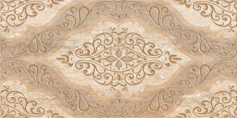 Плитка AZORI Ascoli 315x630 beige classico декор
