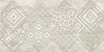 Плитка AZORI Ascoli 315x630  grey geometria декор