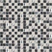 Плитка AZORI Vela Nero 300x300 XH156 мозаика