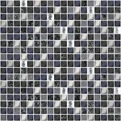 Плитка AZORI Дефиле 300x300 nero XH156-420CP мозаика