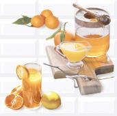 Плитка AZORI Вог 405x402 Citrus 1 (2 шт) панно