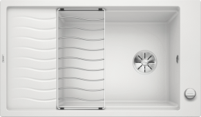 Мойка ELON XL 8 S SILGRANIT PuraDur белый с кл.-авт. InFino  BLANCO 524864
