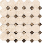 Mosaico Octagon Small EL 03, LM 01 30х30 полированная