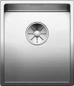 Мойка CLARON 340-U нерж.сталь зеркальная полировка с отв. арм. InFino  BLANCO 521571