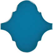 Плитка настенная 23845 SCALE ALHAMBRA Electric Blue 12х12 см