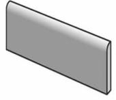 Плинтус CRACKLE Bullnose 7.5x15 см