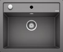 Мойка DALAGO 6-F SILGRANIT PuraDur темная скала с клапаном-автоматом (Заказная позиция) BLANCO 518851