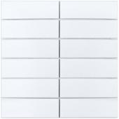 Кер. мозаика 47x147 White Matt (V-VW56000) 300х300x6