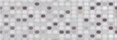 Декор ELETTO Malwia 700х242 Grey Geometria ректификат