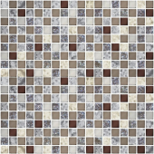 Мозаика 30*30 TERRAZZO MOCCA/FG12 (чип 15*15 мм, толщина 6 мм)