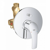 Смеситель для ванны GROHE Eurosmart New (внешняя и встраиваемая части), хром (33305002)