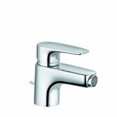 KLUDI PURE&SOLID Однорычажный смеситель на биде, c донным клапаном, арт. 342160575