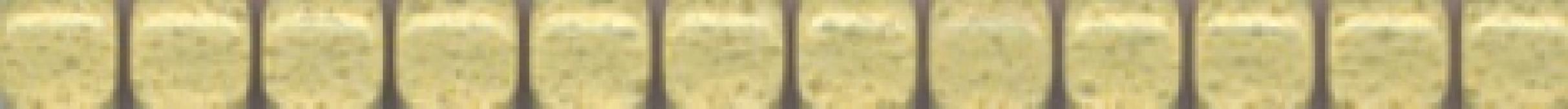 POF005 Карандаш Бисер желтый 20*1.4 бордюр