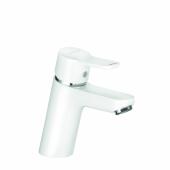 KLUDI PURE&EASY Однорычажный смеситель на умывальник 70, без донного клапана, белый, арт. 370289165