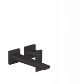 Смеситель hansgrohe Metropol для раковины, однорычажный, излив 225 мм, СМ, матовый черный 32526670