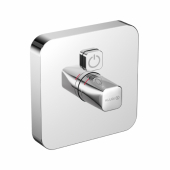 KLUDI PUSH Встраиваемый смеситель, внешняя монтажная часть, кнопка управления для одного источника воды, арт. 386010538
