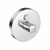 KLUDI PUSH Встраиваемый смеситель, внешняя монтажная часть, кнопка управления для одного источника воды, арт. 386020538
