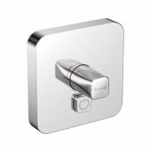 KLUDI PUSH Встраиваемый смеситель, внешняя монтажная часть, кнопка управления для одного источника воды, арт. 386030538