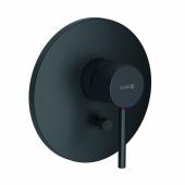 KLUDI BOZZ Встраиваемый смеситель для ванны и душа, черный матовый, арт. 386503976