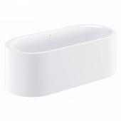 Ванна GROHE Essence, отдельностоящая, 180 х 80 х 57,5 см, альпин-белый (39611000)